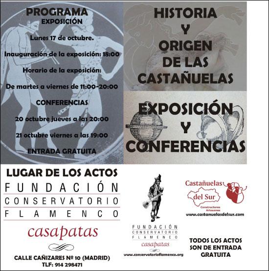 Historia y origen de las castañuelas en la Fundación Casa Patas