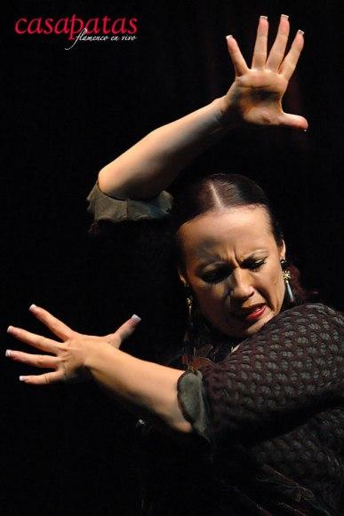"""""""La Truco"""" bailando en Casa Patas. Foto: Martín Guerrero"""