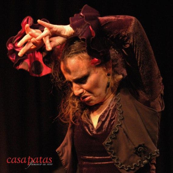 "Carmen ""La Talegona"" en nuestro tablao"